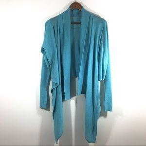 Lululemon Lulu Zen Wrap Angel Blue Sweater